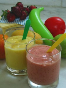 Smoothies Make Nutritious Snacks